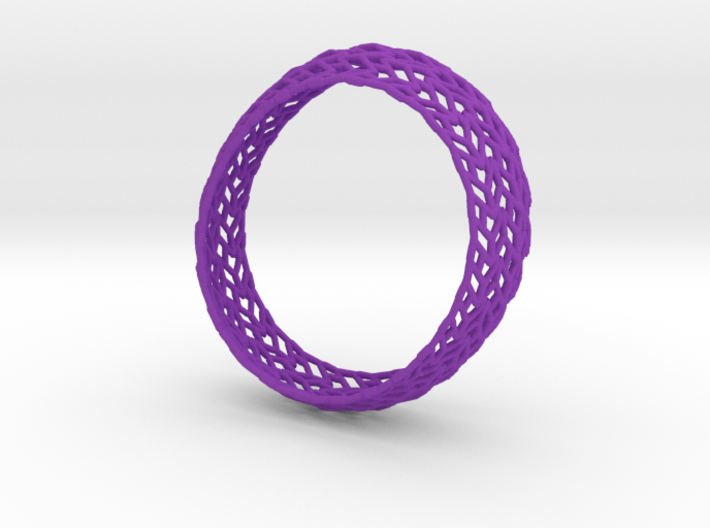 Chevron Bracelet 8 inches 3d printed