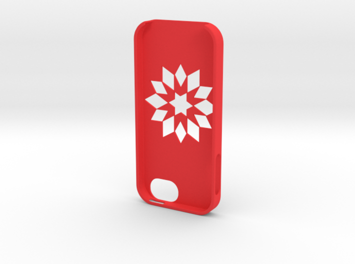 Flower Iphone5 Case 3d printed