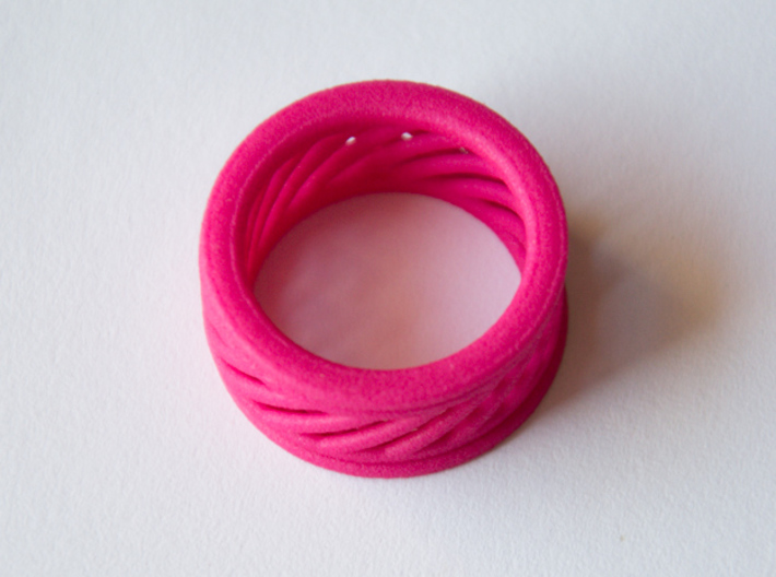 Fidget Ring - spinningRING 3d printed