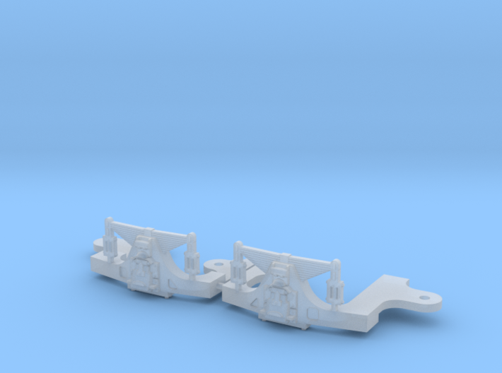 Hodges S scale trailing truck 3d printed
