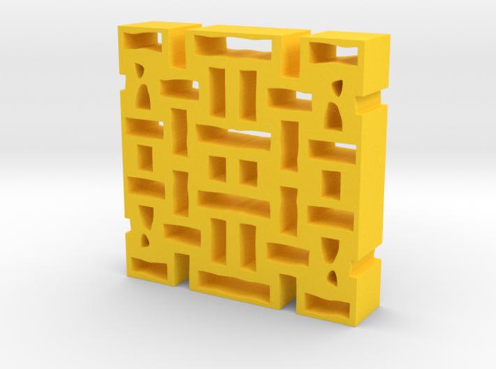 Holes 3d printed