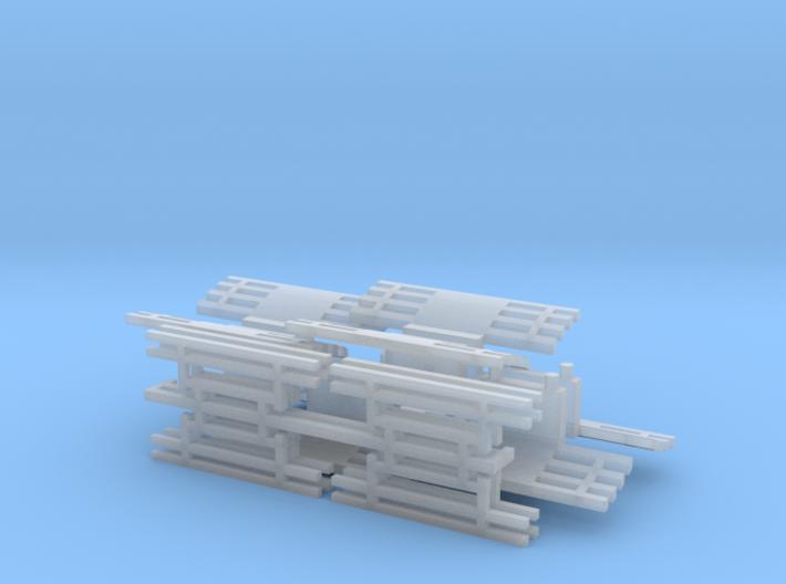 Fangkorb Tastgitter 3d printed