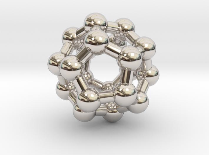 Fullerene C20 3d printed