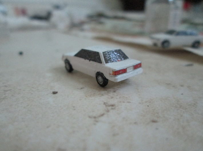 n scale 1983-1986 toyota camry 3d printed