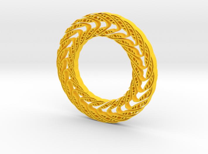 Wavy circle 3d printed