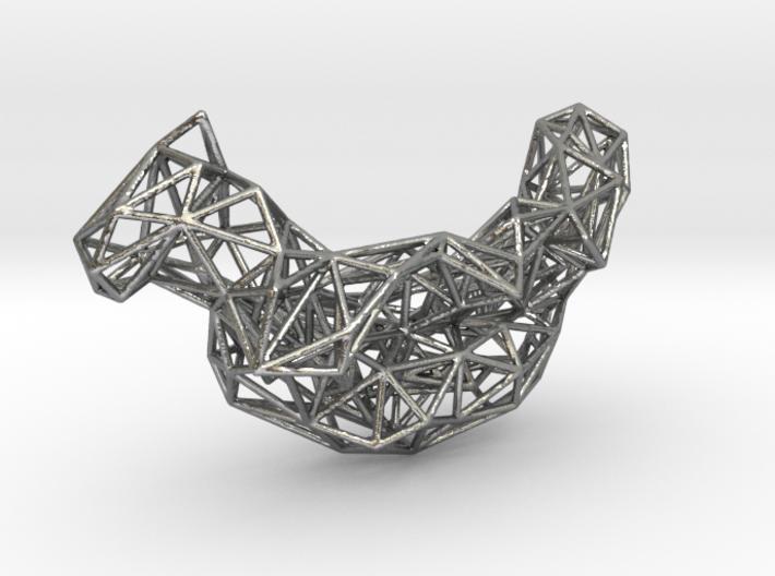 Mesh Necklace no.4 3d printed