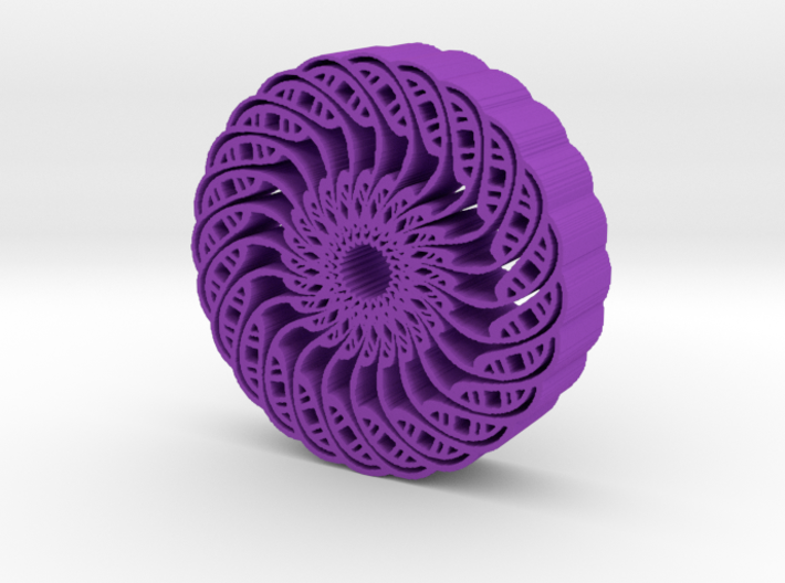 Kaleidoscope flower 3d printed