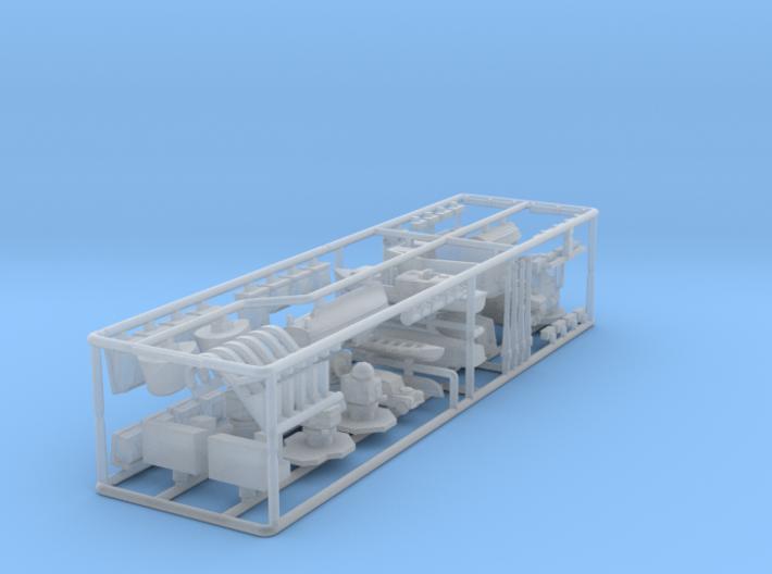 HMS Tiger upgrade kit. 415 scale. 3d printed