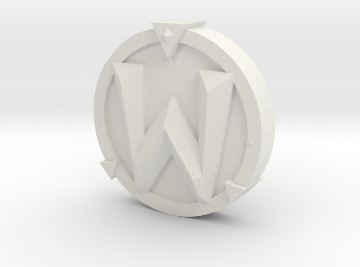 WoW Token 3d printed