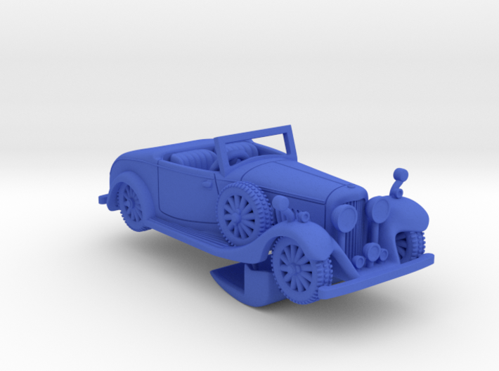 Bentley 1930 4,5L 1:87 3d printed