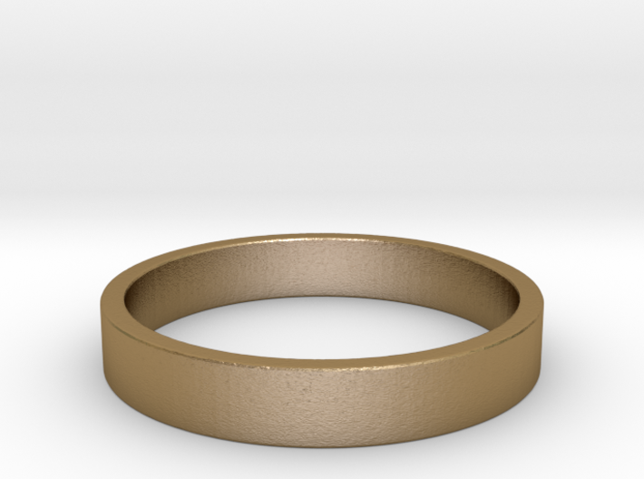 Simple and Elegant Unisex Ring | Size 5.5 3d printed