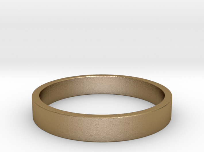 Simple and Elegant Unisex Ring | Size 6 3d printed