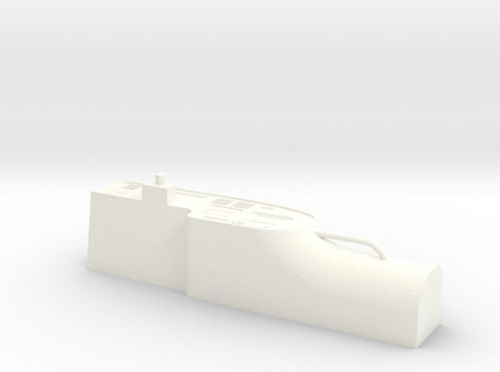 Dashboard HDJ80 3d printed
