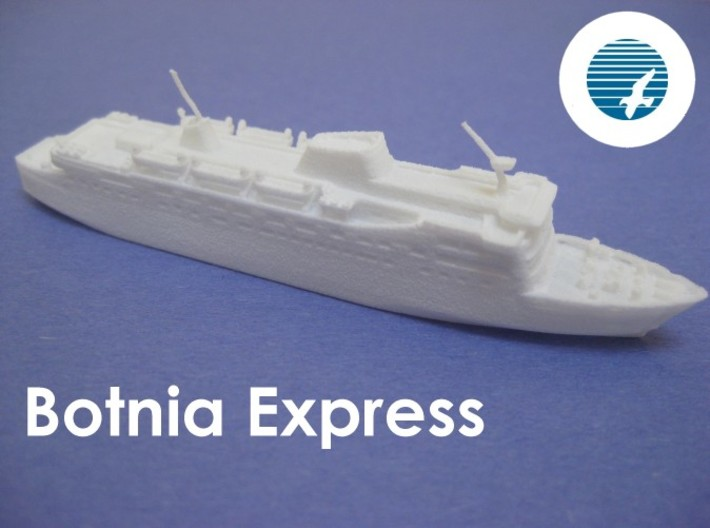 MS Botnia Express (1:1200) 3d printed