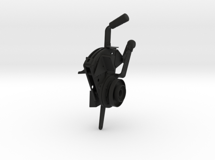Spitfire Throttle Quadrant 3d printed