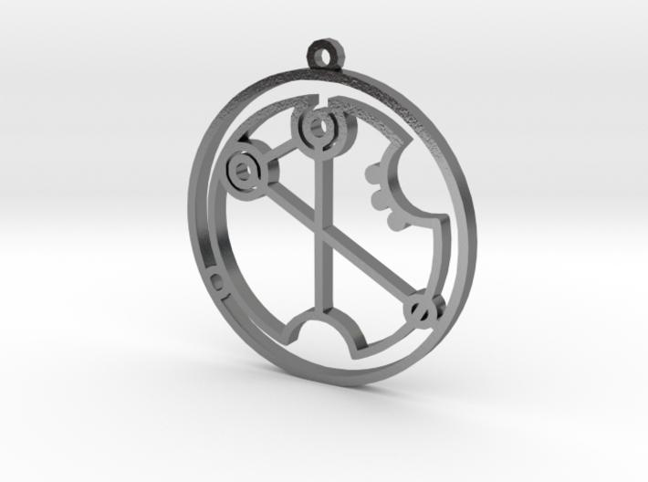 Virginia - Necklace 3d printed