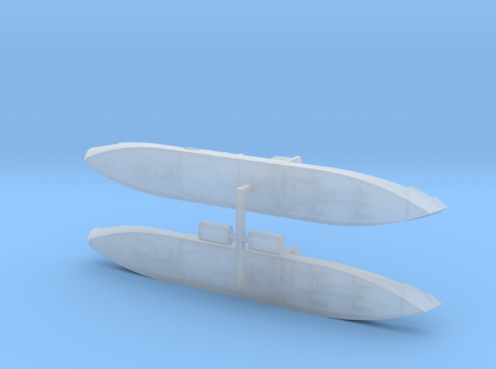 "German Auxiliary Cruiser HSK ""Widder"" 1/2400 3d printed"
