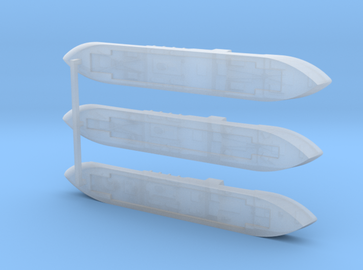 """German Auxiliary Cruiser HSK """"Coronel"""" 1/1800 3d printed"""