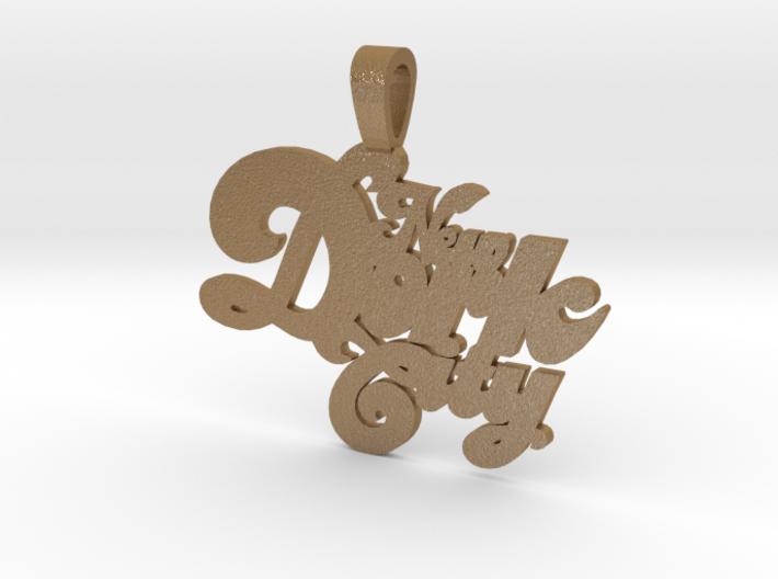 New Dork City Keychain 3d printed