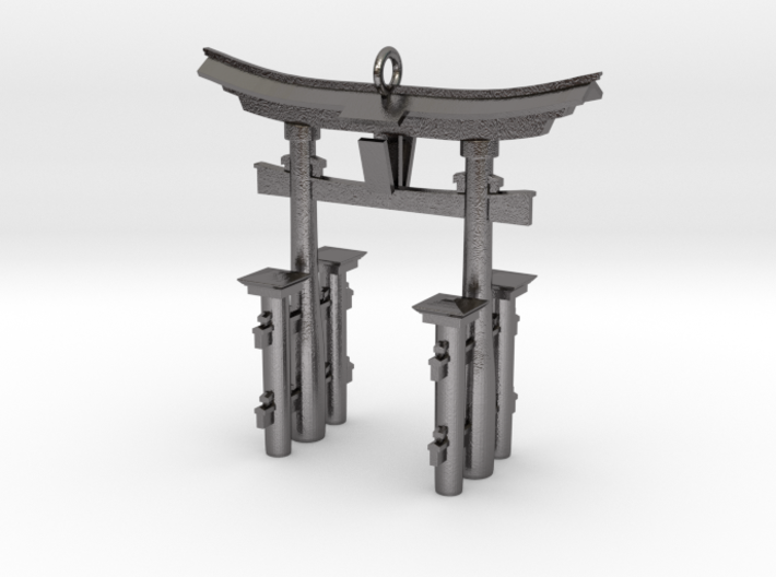 Torii Gate Pendant / Keychain 3d printed