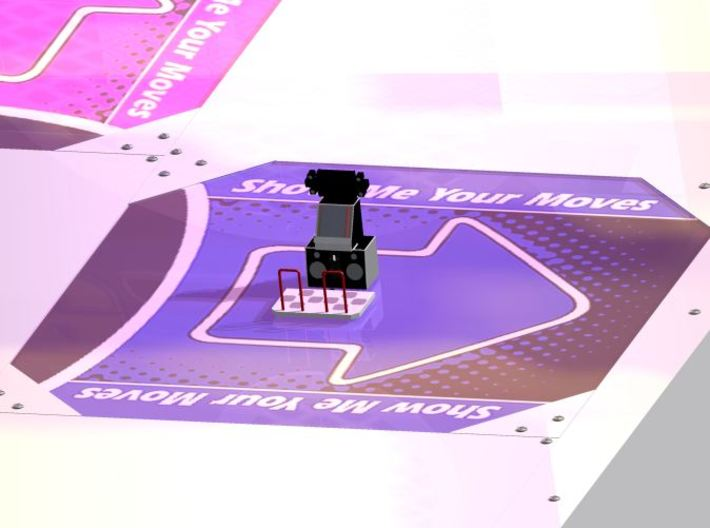 In The Groove ITG / DDR Dance Dance Revolution 3d printed Scale perspective on Autodesk