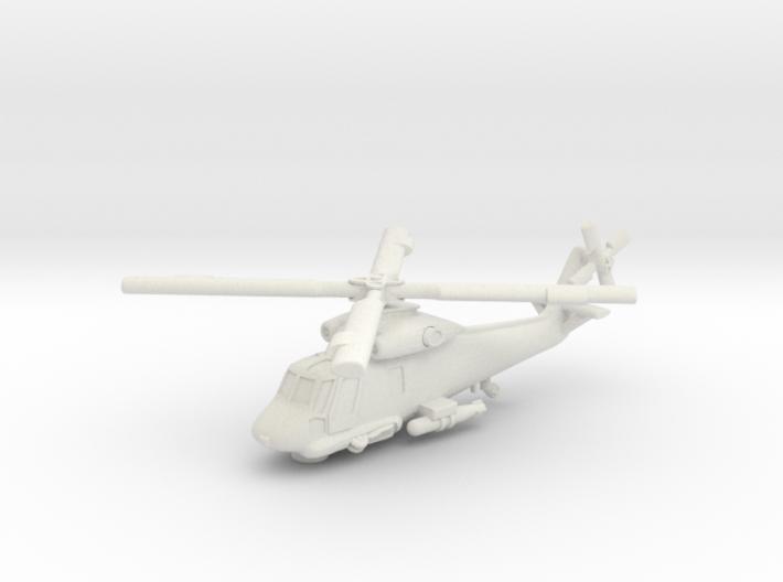 Kaman SH-2 Seasprite (in flight) 1/285 6mm 3d printed