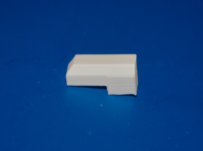 N-Scale Dynacell Air Filter - 5-Pack 3d printed Unpainted Production Photo - Right-Side Unit