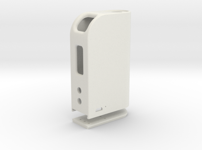 Box Mod With Dual 18650 Pack & Door 3d printed