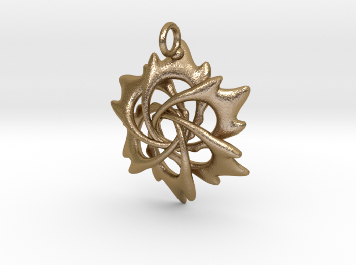 6 Flame Petals - 2.5cm - wLoopet 3d printed