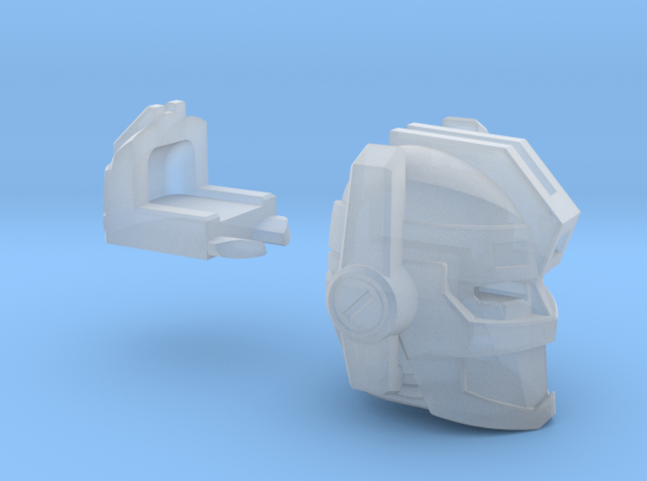 Fearsome Gust Head 3d printed