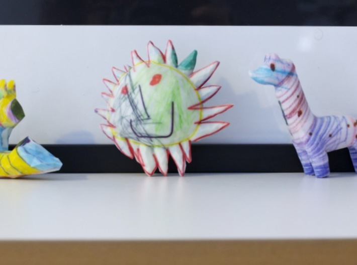 Crayon Creatures | custom order 3d printed