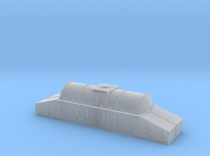 N SNCF HC/Uh Wagon citernes isothermes à lait 3d printed