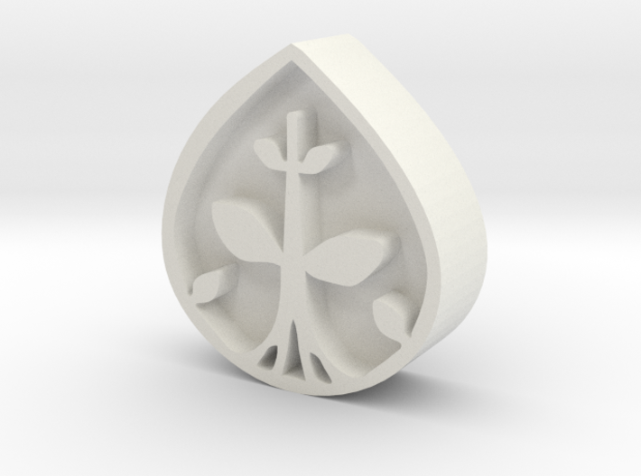 Pokemon - Kalos Region Plant Badge 3d printed