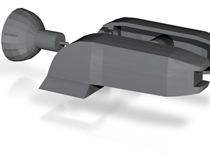 Corvette Rear Blower 3d printed