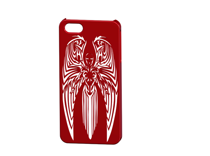 Iphone 5 Angel Case 3d printed