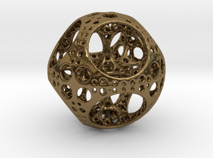 Apollonian Octahedron Supersmall 3d printed