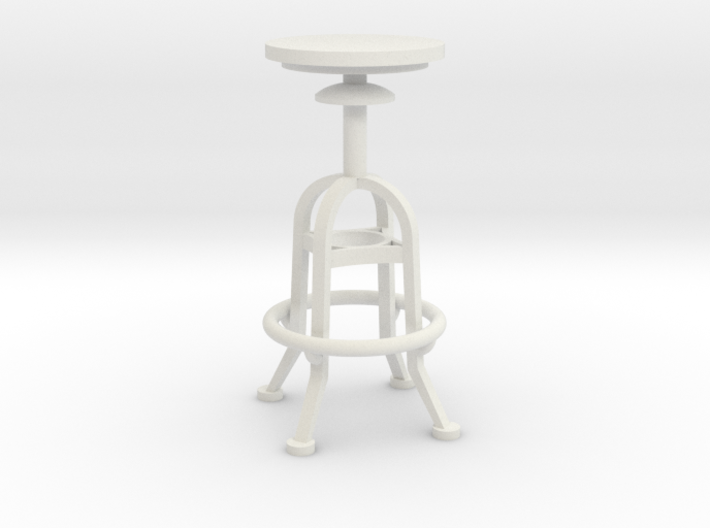 1:24 Mechanical Stool (Not Full Size) 3d printed