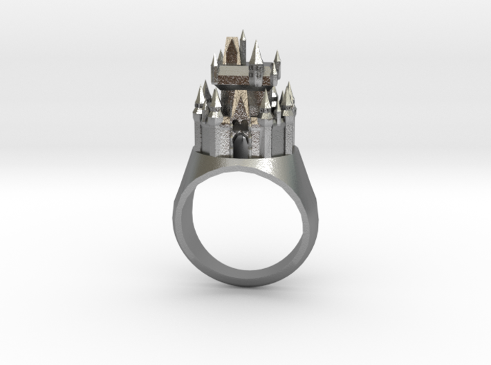 DW Cinderellas Castle Inspired Ring Size 10/U 3d printed
