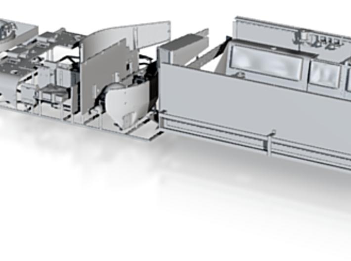 M5A1 Halftrack conversion, (1/35) 3d printed