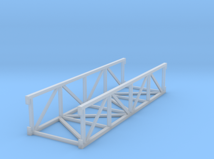 'HO Scale' - 20' Conveyor Bridge Section 3d printed
