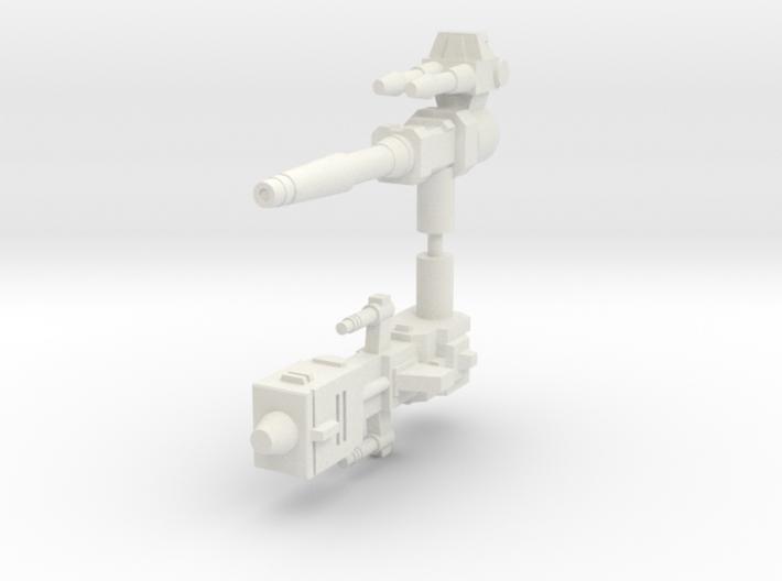 Legendary Tank Guns (5mm handles) 3d printed