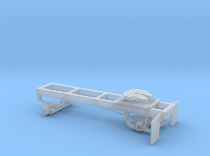 1/64th Single axle frame, suitable for KW CBE 3d printed