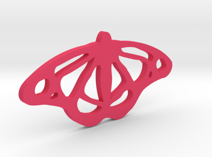 Viceroy Butterfly Pendant 3d printed