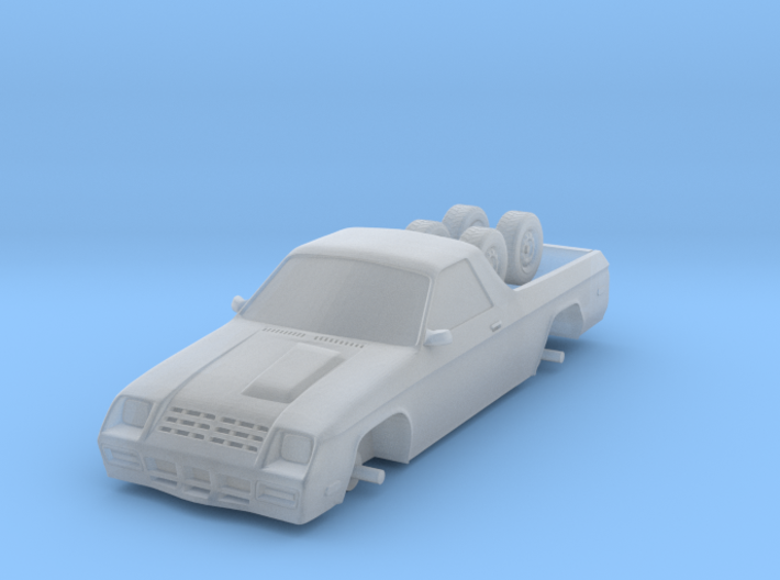 1/87 Scale Rammy Coupe Utility 3d printed