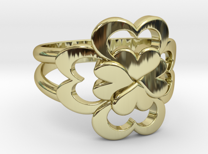 Size 7 Wife Ring 3d printed