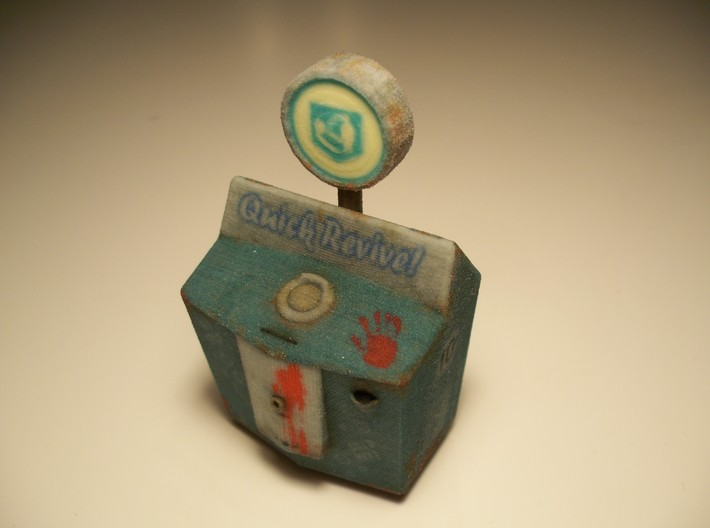 Quick Revive - Nazi Zombies Miniature Perk 3d printed