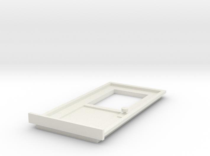 DoorA 1/29 scale 3d printed