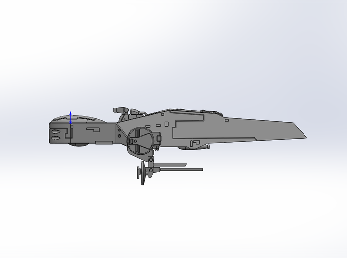 LoGH Alliance Spartanian 1:300 3d printed Render Image