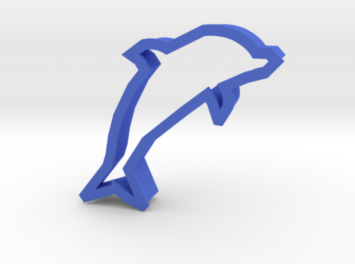 Dolphin Cookie Cutter (Dolphin Day 04/14/15) 3d printed