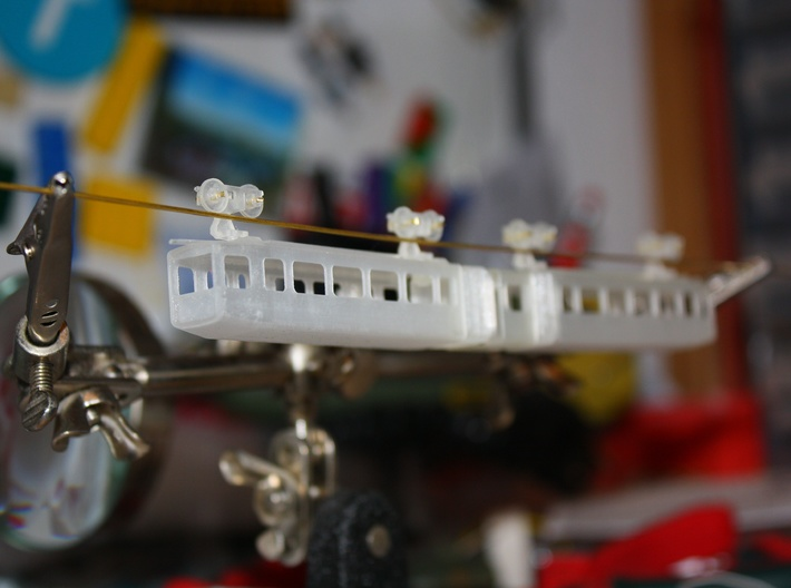 WSW GTW 72 (N scale) 3d printed